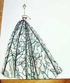 @gilesdeacon_ #fashionillustration #illustration #fashion #drawing #design #fashiondrawing #sketch #fashionsketch #art #artist #artwork #couture #hautecouture