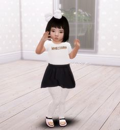 Sims 4 Mods Clothes, Sims 4 Clothing, Kids Clothing, Natural Hairstyles For Kids, Little Girl Hairstyles, Toddler Hairstyles, Sims 4 Toddler, Toddler Girl, Toddler Stuff
