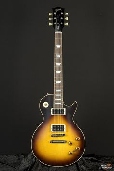 Slash had Gibson's USA & Epiphone Les Paul Standard Tobacco Sunburst guitar issued in Gibson did 1000 Limited Editions with 150 Hand-Signed & Numbered by Slash and 2000 Epiphone Limited Editions with 150 Signed & Numbered by Slash. Music Guitar, Guitar Amp, Cool Guitar, Guitar Room, Gretsch, Epiphone, Gibson Guitars, Fender Guitars, Acoustic Guitars