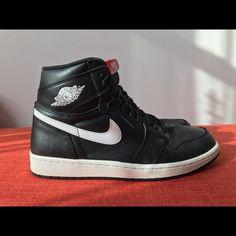 reputable site a49a1 e5e9d Nike Shoes   Retro Nike Air Jordan Sz 8.5 Us Men   Color  Black White    Size  8.5