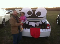 Trunk or Treat--ill have to remember this for Owen Trunk or treat day at  school