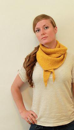 Ravelry: Rae Scarf pattern by Jane Richmond Knitting Yarn, Knitting Patterns, Triangle Scarf, Finger Weights, Stockinette, Garter Stitch, Knitted Shawls, Ravelry, Crochet