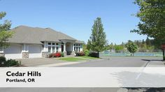 Cedar Hills is known for its convenient location, close to shopping and access to downtown and high tech employers. And you'll find plenty of room to stretch out...large lot sizes here. For more information on Cedar Hills, contact David Somerville at 503-789-7633.