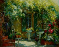 johan messely   Pinturas à óleo de Johan Messely, artista belga.