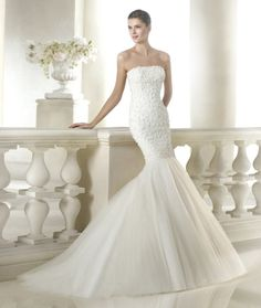 vestido de noiva sanpatrick coleção dreams 2015 modelo SIGOURNEY #casarcomgosto