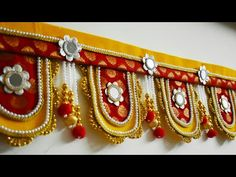 Handmade Home Decor For Your Own Personal Touch – DecorativeAllure Gauri Decoration, Diwali Decoration Items, Thali Decoration Ideas, Diwali Decorations At Home, Diary Decoration, Diwali Diy, Diwali Craft, Handmade Home Decor, Handmade Decorations