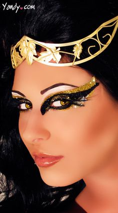 Desire Eye Kit, Cleopatra Costume Eye Make Up, Cleopatra Glitter Eyes $20