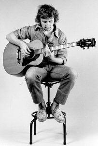 John Ellis plays a Dick Knight acoustic guitar. Acoustic Guitar, Plays, Games, Acoustic Guitars