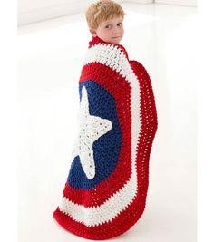 Little Super Hero Blanket - Free pattern