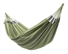 LA SIESTA Aventura Forest Fabric Hammock at Lowe's. The Aventura Forest weather-resistant double hammock is the perfect place to relax and watch the breeze rustle through the treetops. Outdoor Hammock, Hammock Swing, Outdoor Gear, Chair Swing, Forest Color, Double Hammock, Plastic Adirondack Chairs, Modern Chairs, Lawn And Garden