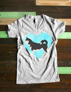 Husky Shirt Perfect Dog Lovers Gift for Dog Mom Clothing.