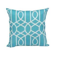 Another One For Our Seats On Priavte Balcony   Image For Outdoor Cushion    Blue Moroccan