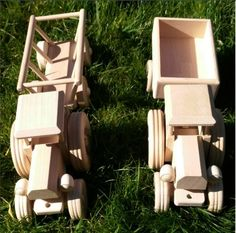Made from natural eco wood and unpainted for fun and safe playtime Kids Toys Online, Decor Ideas, Gift Ideas, Wood Toys, Baby Toys, Tractors, Gifts For Kids, Kids Room, Room Decor
