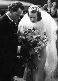Ingrid Bergman em seu primeiro casamento – 1937
