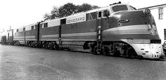 Seaboard's flagship Orange Blossom Special in 1940