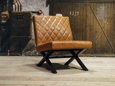 Leren fauteuil Muret | robuustetafels.nl