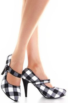Burberry Check Shoes