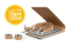 This unique design is the perfect solution for preventing cats from scratching on unwanted surfaces, while fitting seamlessly into any home decor. You will no longer be embarrassed of a shredded cat scratcher when visitors arrive to your home. The Astoria Cat Scratcher is created with thin layers of bamboo pressed around a curved form to create its unique shape that allows for multiple scratching surfaces and is perfect for two cats or suiting a cat's particular mood.