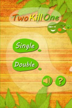 Two Kill One Games Entertainment iPhone App ***** $0.99 ->...: Two Kill One Games Entertainment iPhone App… #iphone #Games #Entertainment