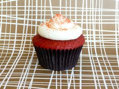 red velvet cupcakes...made them for Dylan's birthday and loved them!