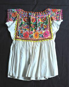 Oaxaca Chatino Blouse