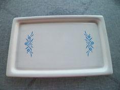 Corning Ware Blue Cornflower Broil Bake Tray Made by OldSowellShop