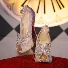 Christian Loubiton Cinderella inspired slippers