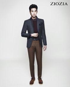 Kim Soo Hyun (김수현) for ZIOZIA (지오지아) 2012 F/W #2 #KimSooHyun #SooHyun #ZIOZIA