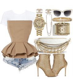 As Sarah Jessica Parker once told Vanity Fair, 'If you're a nice person and you work hard, you get to go shopping at Barneys. It's the decadent reward. Boujee Outfits, Polyvore Outfits, Fashion Outfits, Spring Outfits, Simple Outfits, Classy Outfits, Stylish Outfits, Cute Fashion, Girl Fashion