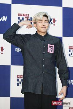 BTS RM @ Problematic Man Press Conf