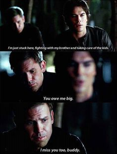 Why just why couldn't they have kept Alaric. So help me he better be back for good somehow in the new season!