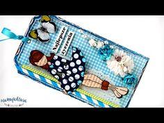 Kartki z Valentiną - Julie Nutting Doll - Manufaktura Justyny - artykuły do rękodzieła i ozdoby hand made