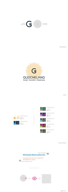 Logo system as part of the branding project for Gleichklang. Of Brand, Branding, Chart, Map, Logos, Projects, Kids, Log Projects, Brand Management
