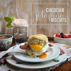 cheddar jalapeno breakfast sandwiches // shutterbean