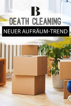 """Mehr Ordnung in deinem Zuhause: Eine Methode, die dabei helfen kann, ist """"Death Cleaning"""" - wir erklären den neuen Trend aus Schweden."""