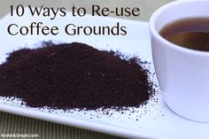 10 Ways to Reuse Coffee Grounds - The Earthy Mama