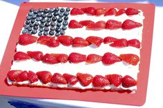 July 4th Fruit Pizza recipe