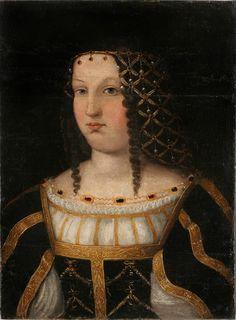 Unknown Lady (previously called Lucrezia Borgia). Unknown artist, copy after Bartolomeo Veneto, Portrait of a Lady, c. Italian Renaissance Dress, Renaissance Portraits, Renaissance Fashion, Renaissance Clothing, Historical Clothing, The Renaissance, Renaissance Costume, Female Clothing, Les Borgias