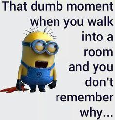 Dumb moment