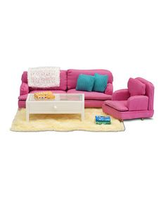 Take a look at this Småland Sitting Room Set by Lundby on #zulily today!