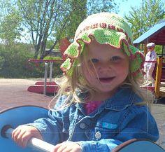 Stick och virka!: Virkad sommarhatt