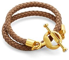 Snaffle Toggle bBaided Bracelet/Necklace