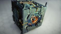 Box by Maxim Goudin, via Behance