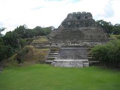 Xunantunich, is an Ancient Mayan archaeological site in western Belize.  mywebtravelagent.com