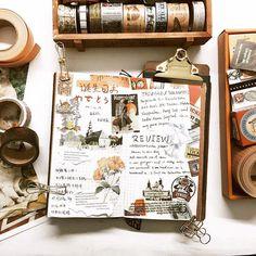🌚 #midori #travelersnotebook #mtn #planner #washitape #journal #diary #planneraddict #washitapes #journals #washiaddict #midoritravelersnotebook #手帳 #和紙膠帶 #手帐