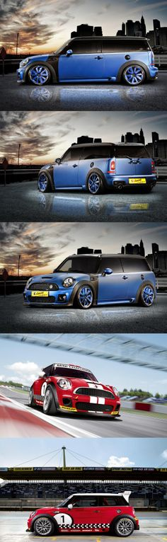 Mini Cooper ClubMan!! Let start to dreaming !! Ahahaa