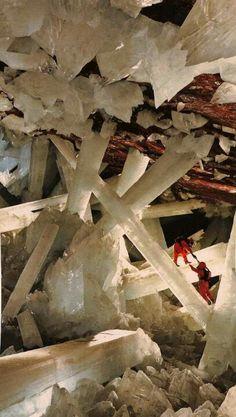 Naica Mine, Giant Gypsum Crystals, mexico