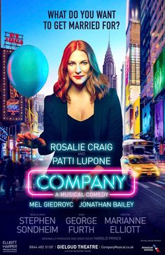 "COMPANY on Twitter: """"It's a city of strangers, some come to work, some to play"" #CompanyWestEnd… """