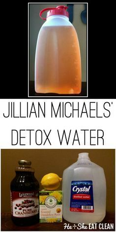 Jillian Michaels Detox Water – This is a detox water that you drink along with your clean, healthy meals. E – Jillian Michaels Detox Water – This is a detox water that you drink along with your clean, healthy meals. Smoothies Detox, Detox Diet Drinks, Diet Detox, Detox Juices, Fat Burning Detox Drinks, Lemon Detox, Detox Tea, Healthy Detox, Healthy Drinks