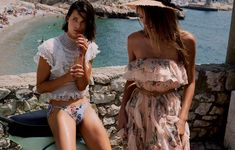 The Zimmermann 'Bowie Waterfall Dress' is now available at Bernard Boutique! Bowie, Resort Swimwear, Australian Fashion Designers, Spring Tops, Spring Summer, Bikini, Vacation Outfits, Designer Swimwear, Beach Babe